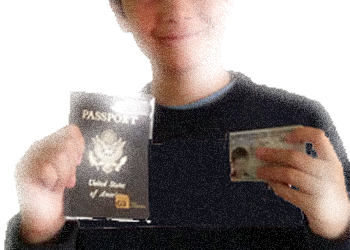 Passport cards for children