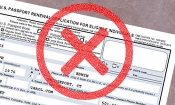 Did you make a passport application mistake? G3 will help!